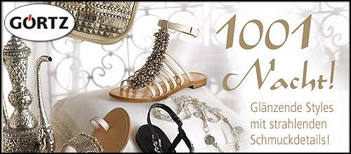 Görtz - Glamour-Sandaletten wie in 1001 Nacht